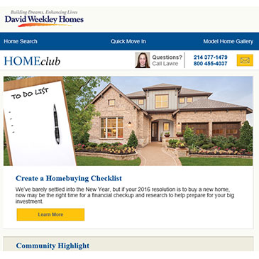 Custom Home Builder | Award-Winning | David Weekley Homes
