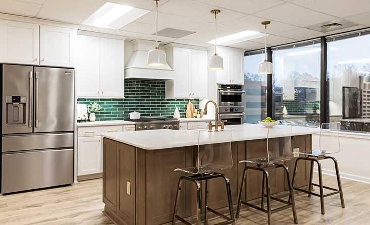 The David Weekley Homes Design Center in Charlotte, NC