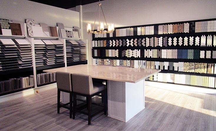 The David Weekley Homes Design Center in Denver, CO