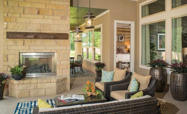 The Woodside Outdoor Living