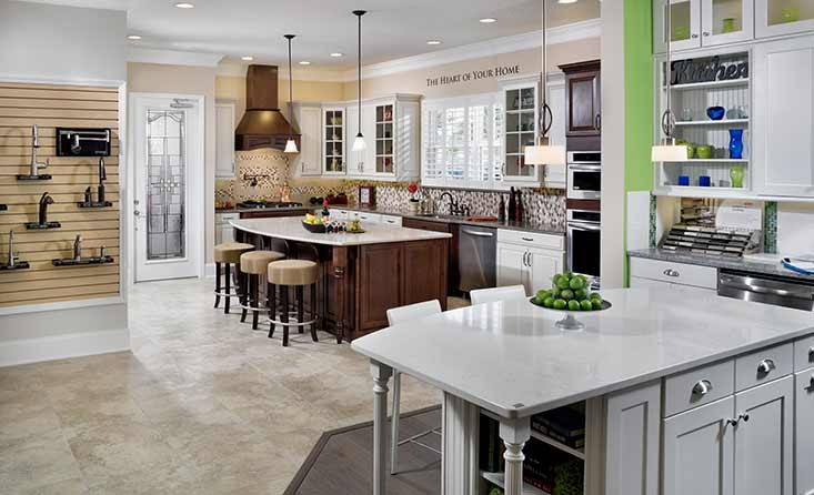 The David Weekley Homes Design Center in Jacksonville, FL