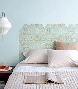 Wallpaper Headboard