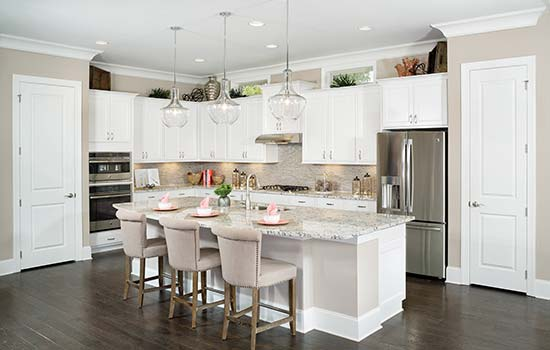 Zest Up The Space Above Your Kitchen Cabinets David Weekley Homes