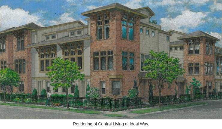 David Weekley Homes Building Townhomes In South End