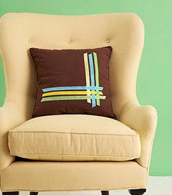 Ribbon Pillows