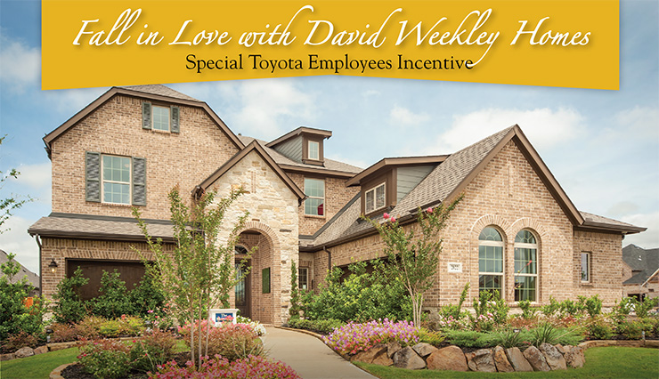 Fall in Love with David Weekley Homes
