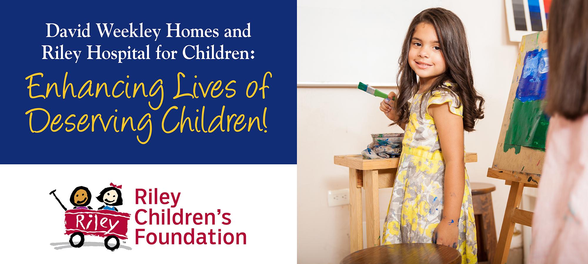 Enhancing Lives of Deserving Children at Riley Hospital for Children