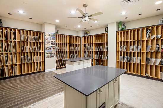 The David Weekley Homes Design Center in San Antonio, TX