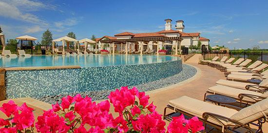 pool at Viridian amenity center