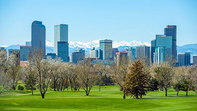 Denver, CO skyline