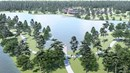 13 Acre Lake House Amenity Complex