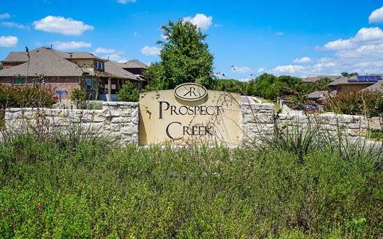 Kinder Ranch Prospect Creek Gated Community San Antonio