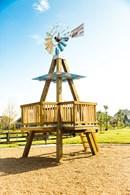 Harvest Green Windmill