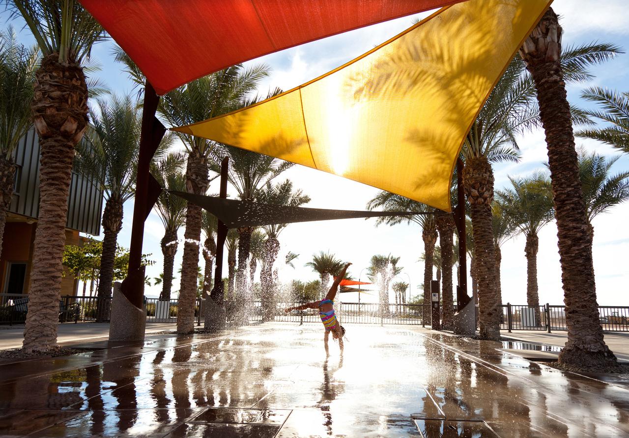 Splash Pad at Eastmark