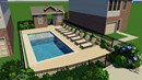 Trinity Green Pool Rendering