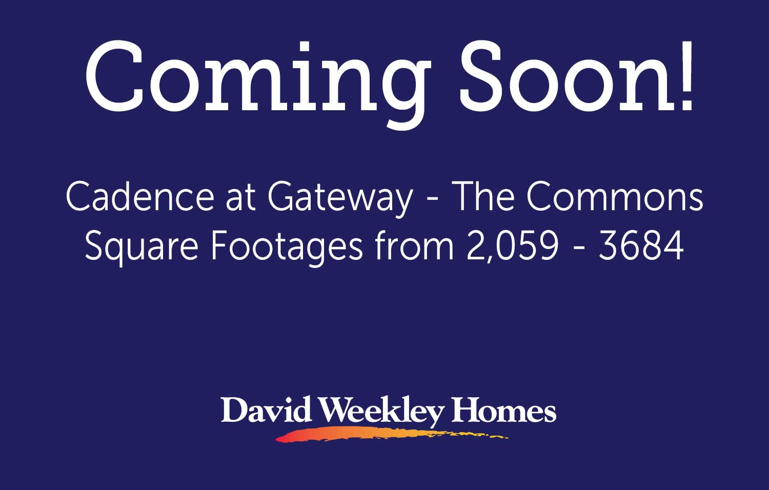 Coming Soon Cadence at Gateway - The Commons1!