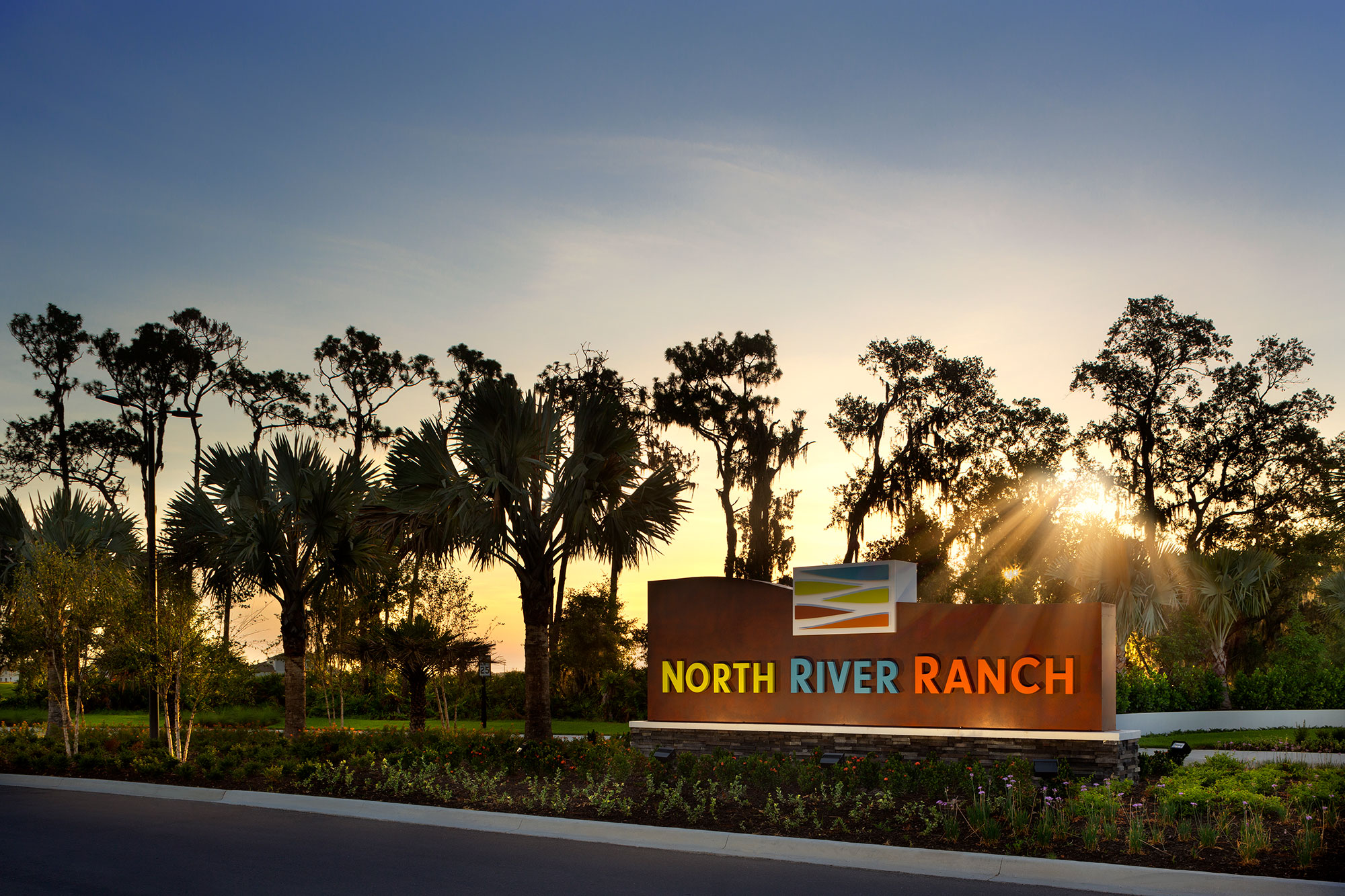 North River Ranch Monument