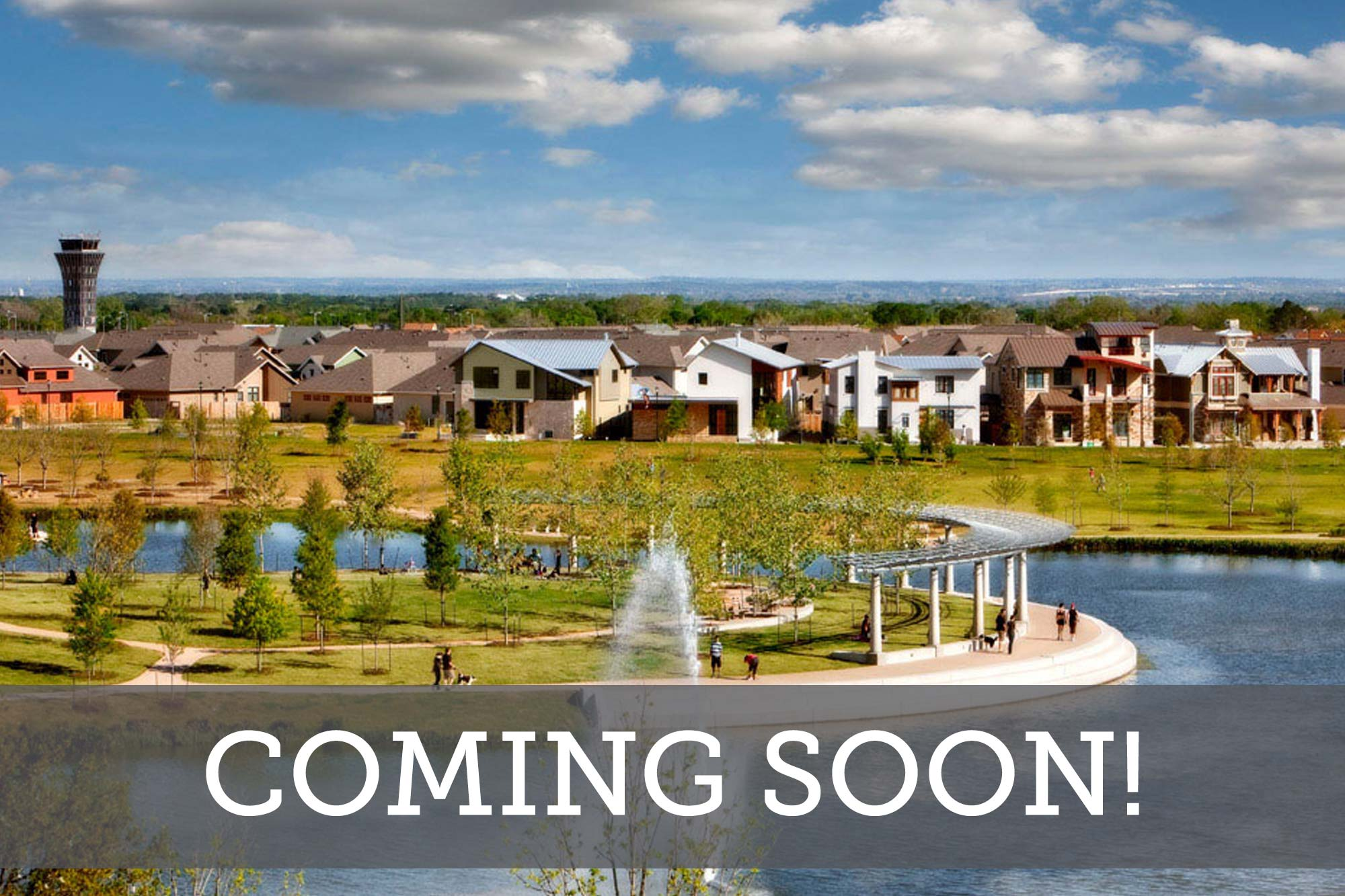 Mueller Town Green Row Homes - Coming Soon
