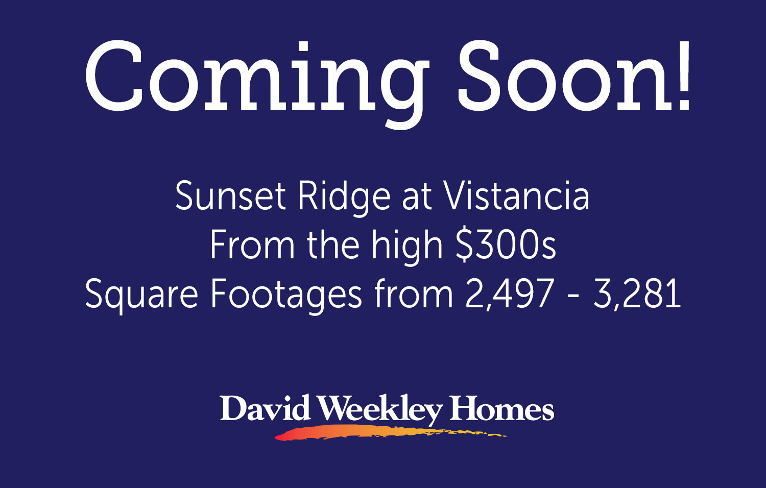 Susnet Ridge at Vistancia - Coming Soon