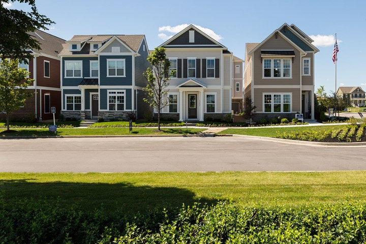 the villas at saxony fishers in home builder new homes david