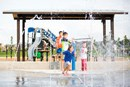 Harvest Green Splash Pad