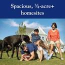 Spacious 3/4 Acre Homesites