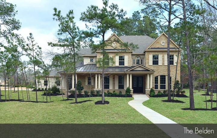 Houston area custom home builder homes built on your lot for Build on your lot houston floor plans