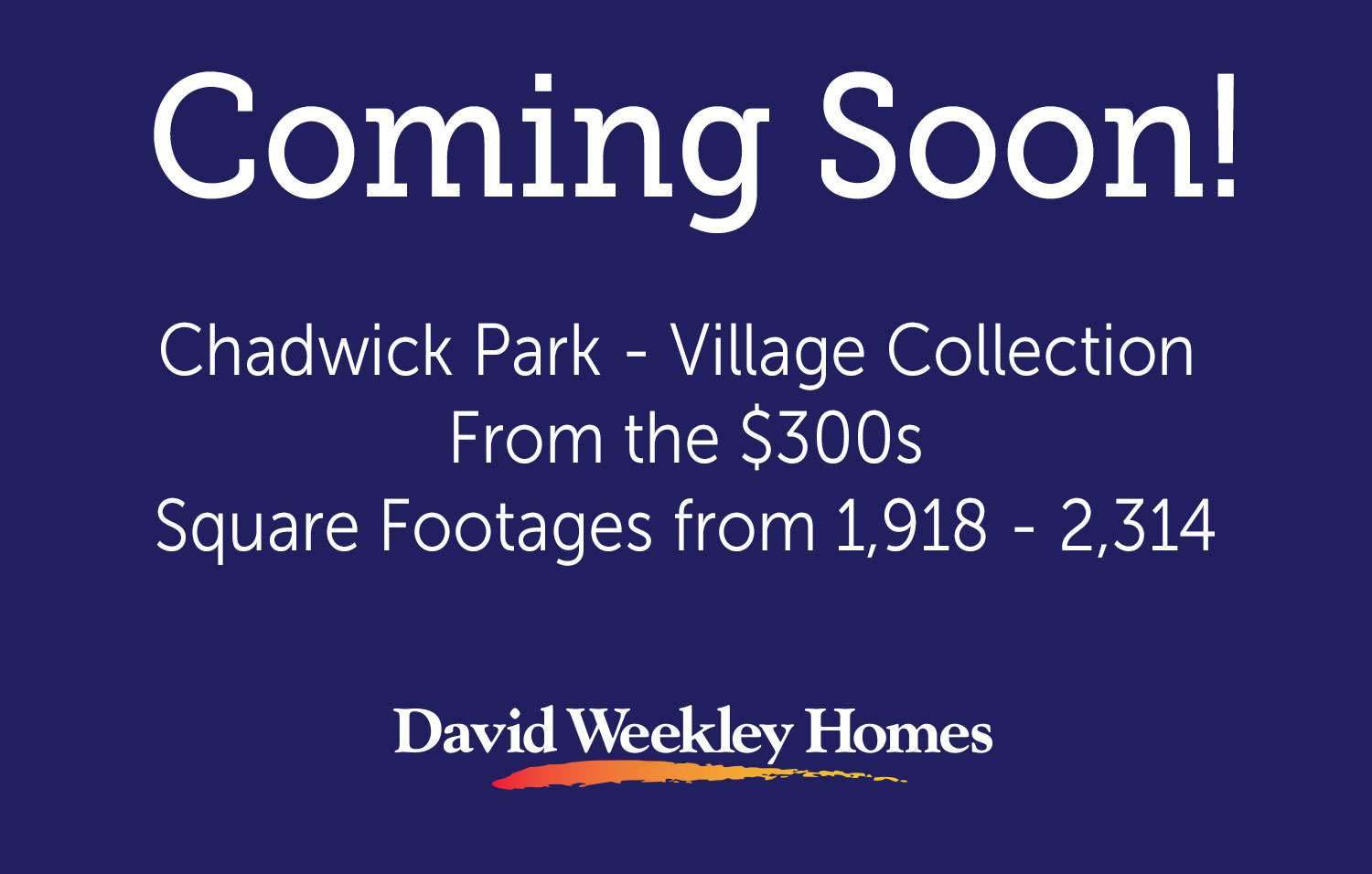 Chadwick Park - Village Collection