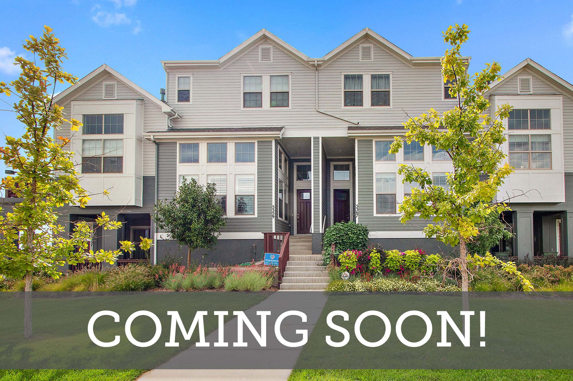 Central Park Row Homes - Coming Soon