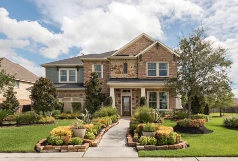 Houston area custom home builder homes built on your lot for Build on your lot houston floor plans