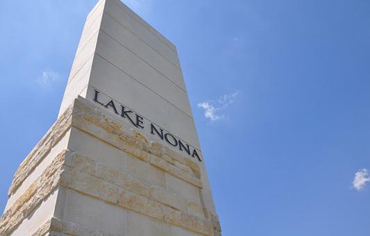 Lake Nona - Entrance